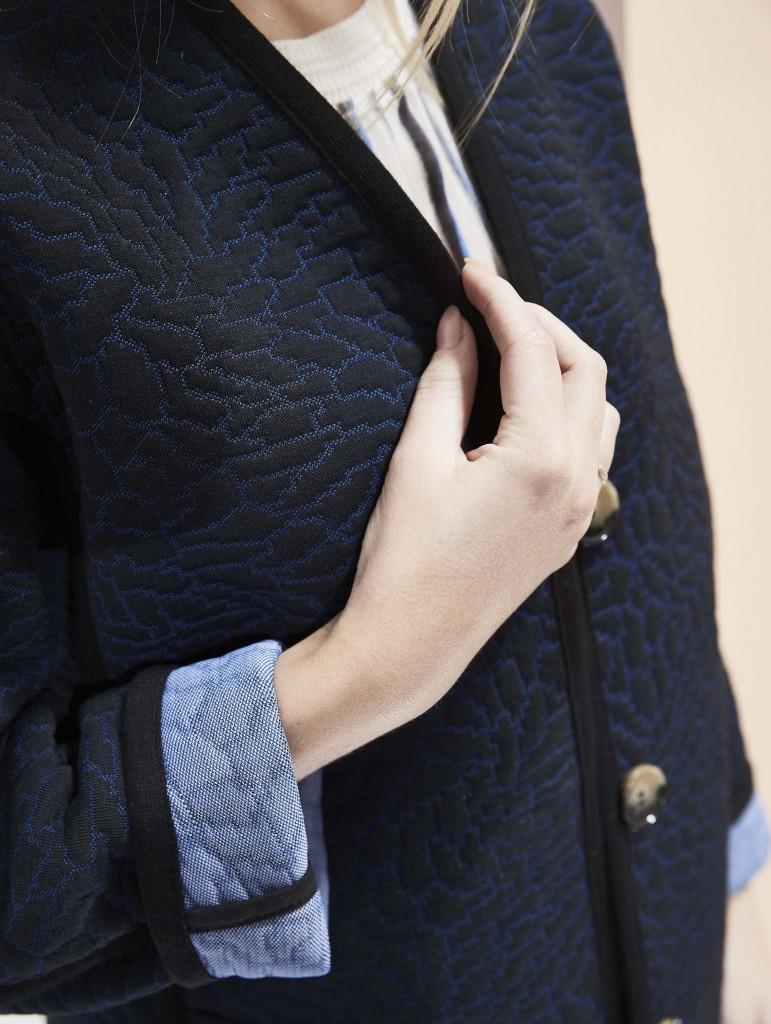 Nebula September Salon coat