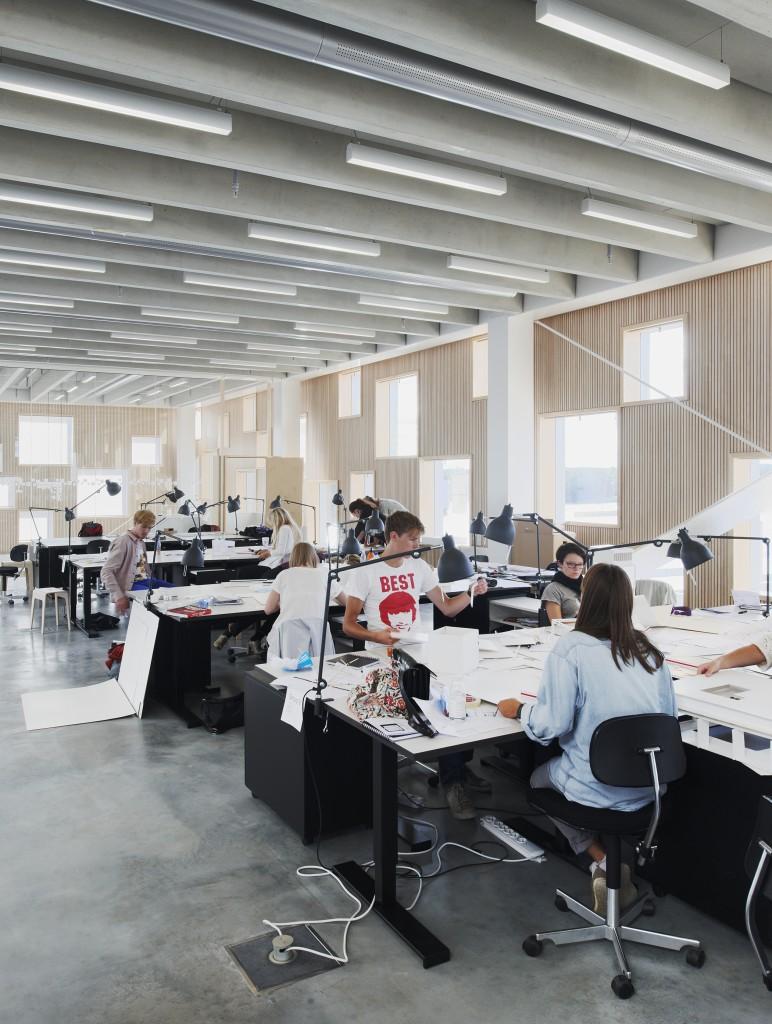 Arkitekthögskolan study area