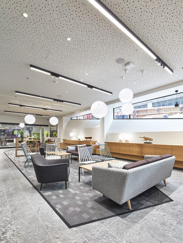 SEB Helsinki lounge