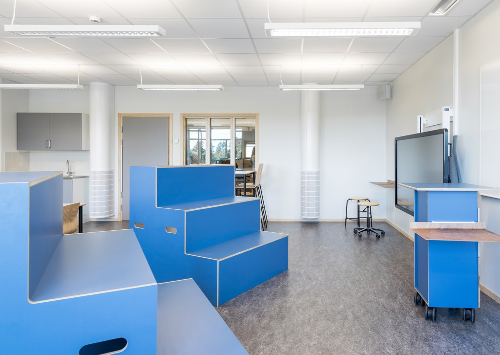 Runnerydsskolan blue furnishings main