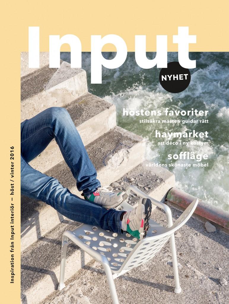 Inputmagasin #1 frontpage swedish version