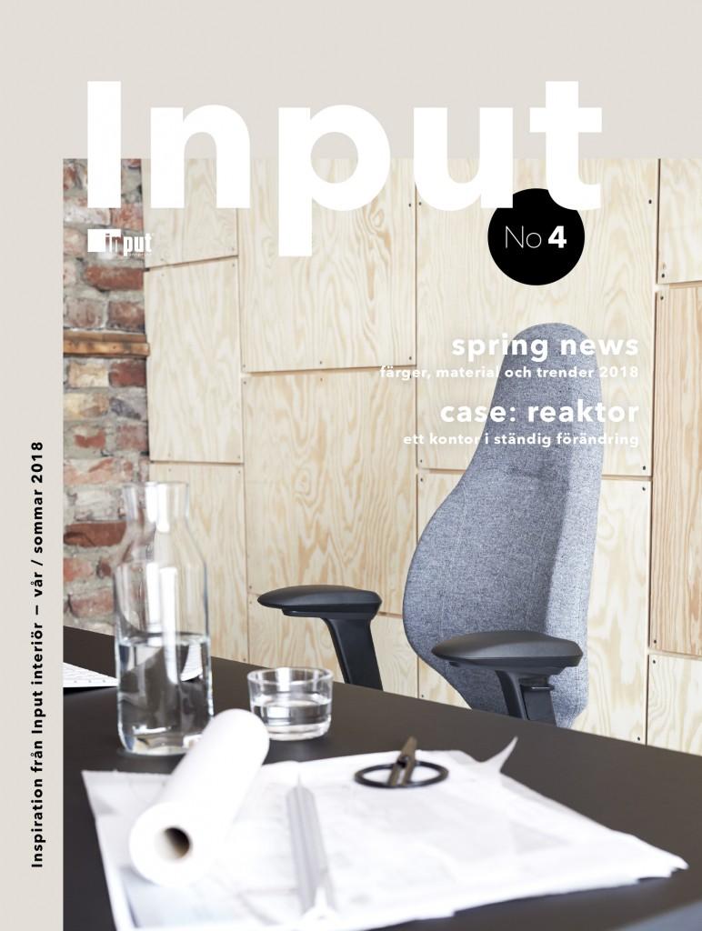 Inputmagasin #4 frontpage swedish version