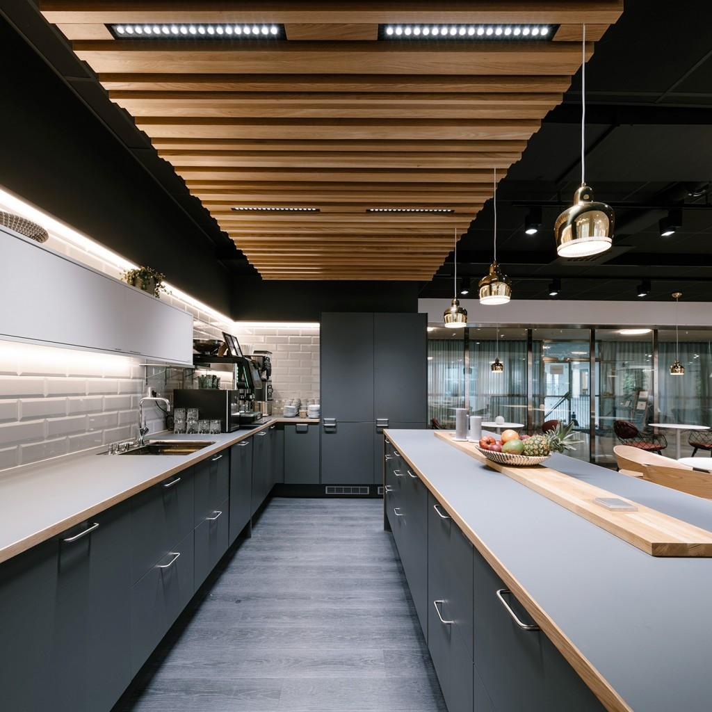 UMA Workspace kitchen