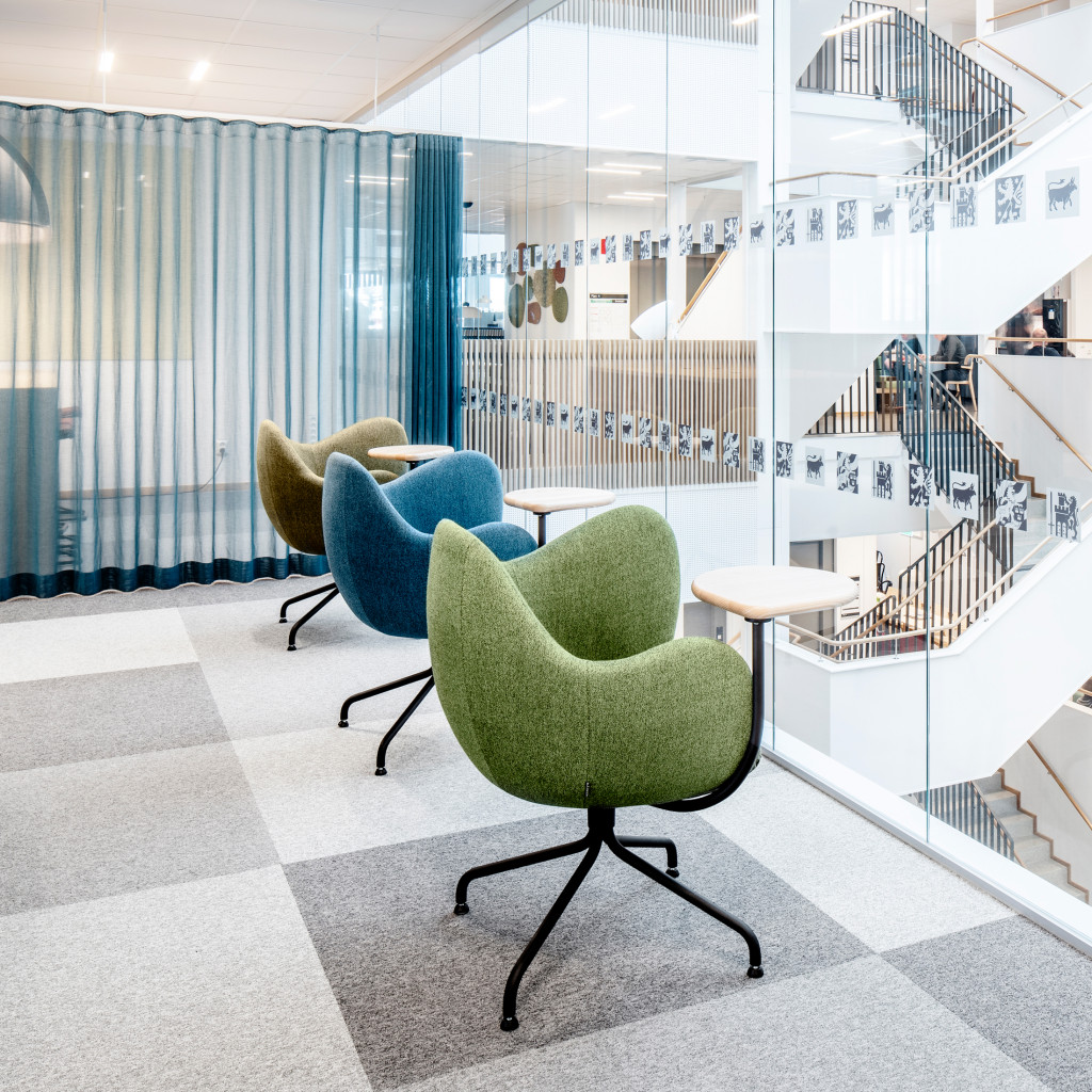 Regionens Hus Activity-based work environment