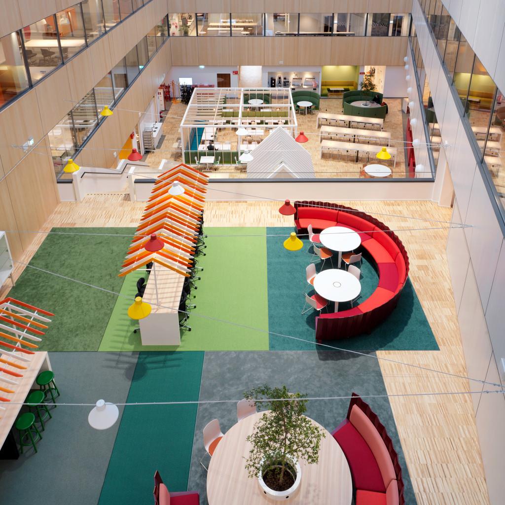 ICA Headquarter Sitting area