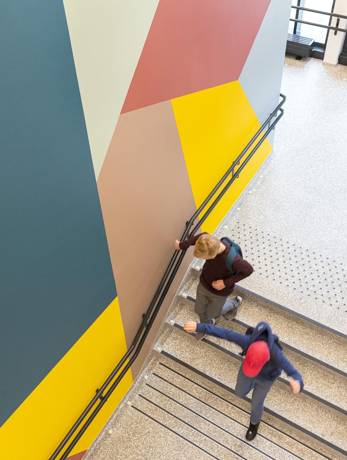 Nordseter Skole Staircase