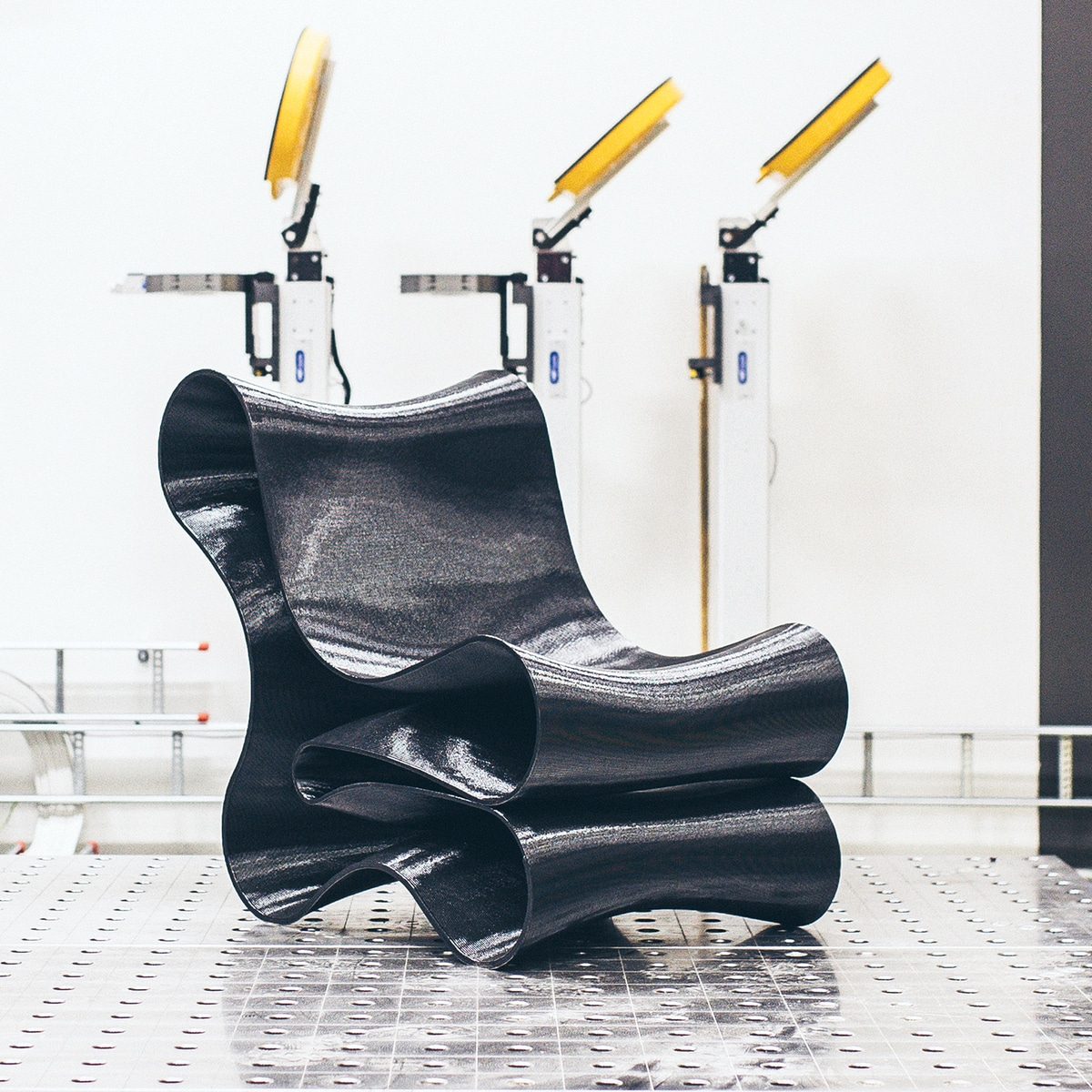 Sculptur chair made with 3D technology